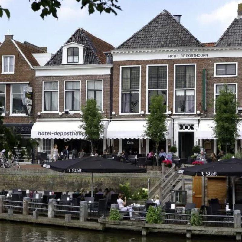 Bezienswaardigheden Friesland Dokkum Hotel de Posthoorn