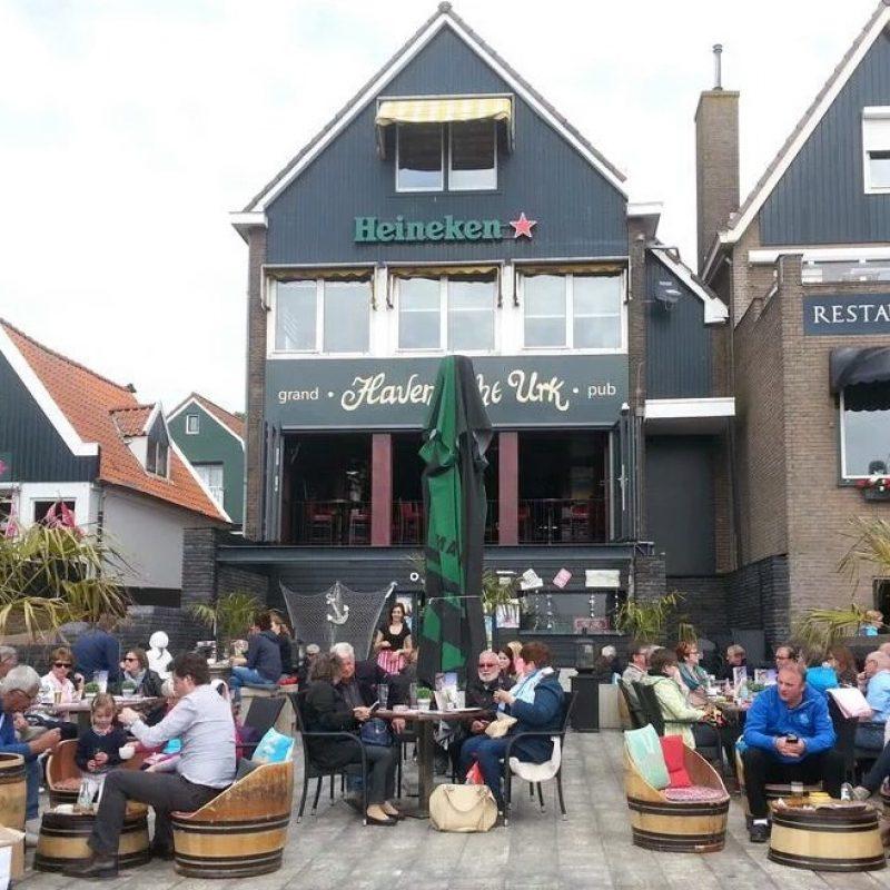 Flevoland-Terras Havenzicht Urk