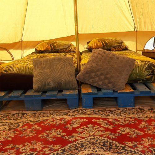 Fort Bakkerskil safaritent binnen