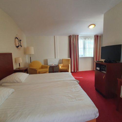 Hotel Brabantse Biesbosch kamer